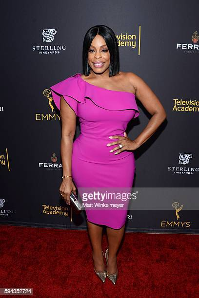 Actress Niecy Nash arrives at the Television Academy's Performers Peer Group Celebration at Montage Beverly Hills on August 22 2016 in Beverly Hills...