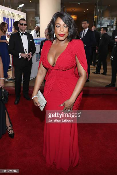Actress Niecy Nash at the 74th annual Golden Globe Awards sponsored by FIJI Water at The Beverly Hilton Hotel on January 8 2017 in Beverly Hills...