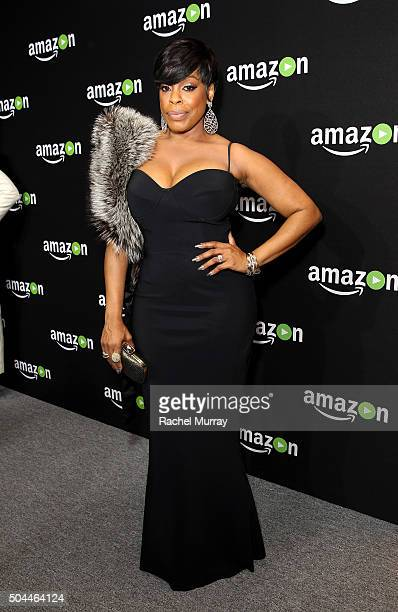 Actress Niecy Nash attends Amazon's Golden Globe Awards Celebration at The Beverly Hilton Hotel on January 10 2016 in Beverly Hills California
