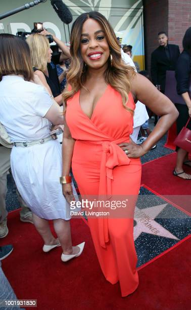 Actress Niecy Nash attends Cedric the Entertainer being honored with a Star on the Hollywood Walk of Fame on July 19 2018 in Hollywood California