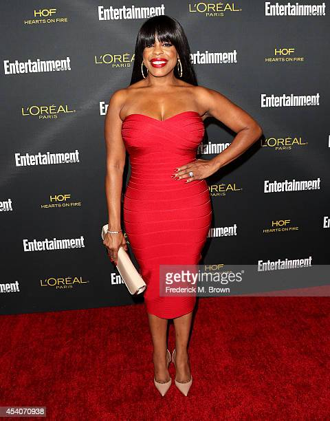 Actress Niecy Nash attends Entertainment Weekly's Pre Emmy Party at the Fig Olive Melrose Place on August 23 2014 in West Hollywood California