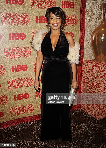 Actress Niecy Nash attends HBO's Golden Globe Awards after party at Circa 55 Restaurant on January 12 2014 in Los Angeles California