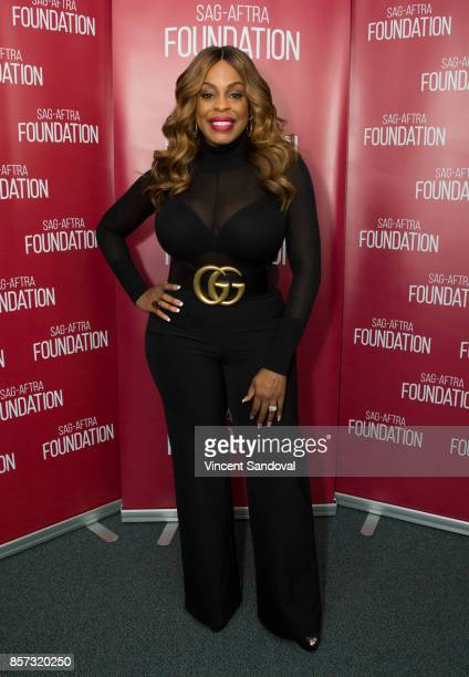Actress Niecy Nash attends SAGAFTRA Foundation Conversations with 'Claws' at SAGAFTRA Foundation Screening Room on October 3 2017 in Los Angeles...