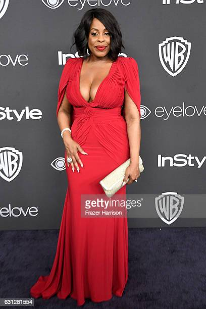 Actress Niecy Nash attends the 18th Annual PostGolden Globes Party hosted by Warner Bros Pictures and InStyle at The Beverly Hilton Hotel on January...