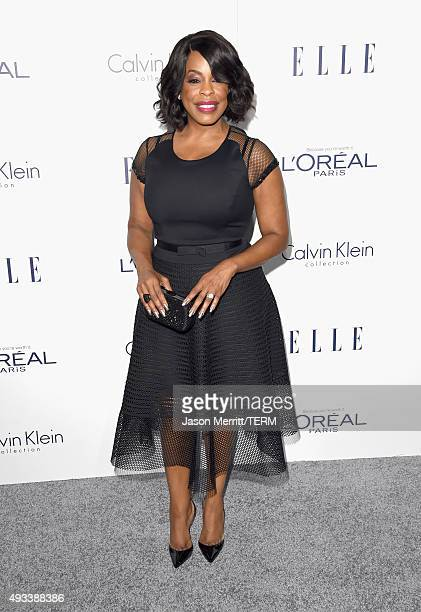 Actress Niecy Nash attends the 22nd Annual ELLE Women in Hollywood Awards at Four Seasons Hotel Los Angeles at Beverly Hills on October 19 2015 in...