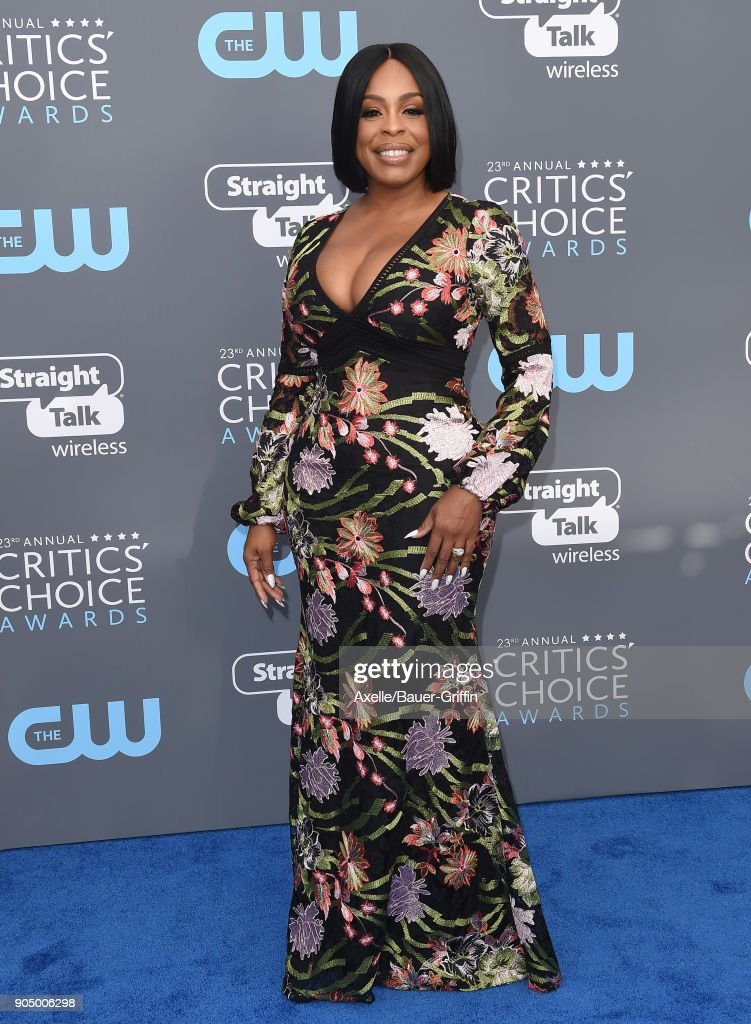 Actress Niecy Nash attends the 23rd Annual Critics' Choice Awards at Barker Hangar on January 11, 2018 in Santa Monica, California.