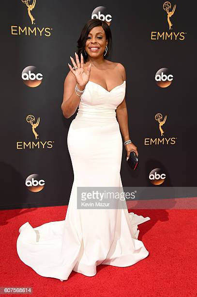 Actress Niecy Nash attends the 68th Annual Primetime Emmy Awards at Microsoft Theater on September 18 2016 in Los Angeles California