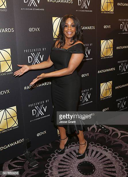 Actress Niecy Nash attends the Art Directors Guild 20th Annual Excellence In Production Awards at The Beverly Hilton Hotel on January 31 2016 in...