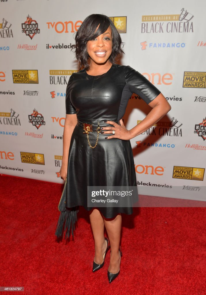Celebration Of Black Cinema Hosted By Broadcast Film Critics Association - Red Carpet : News Photo
