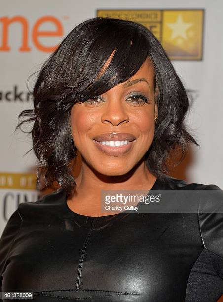 Actress Niecy Nash attends the celebration of black cinema hosted by Broadcast Film Critics Association at House of Blues Sunset Strip on January 7...