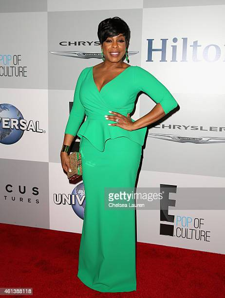 Actress Niecy Nash attends the NBCUniversal 2015 Golden Globe Awards Party sponsored by Chrysler at The Beverly Hilton Hotel on January 11 2015 in...
