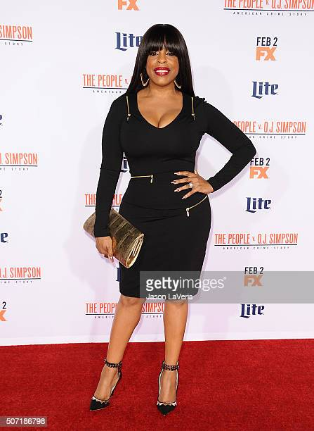 Actress Niecy Nash attends the premiere of 'American Crime Story The People V OJ Simpson' at Westwood Village Theatre on January 27 2016 in Westwood...