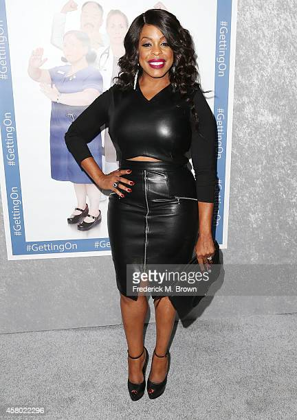 Actress Niecy Nash attends the Premiere of HBO's 'Getting On' Season 2 at the Avalon on October 28 2014 in Hollywood California