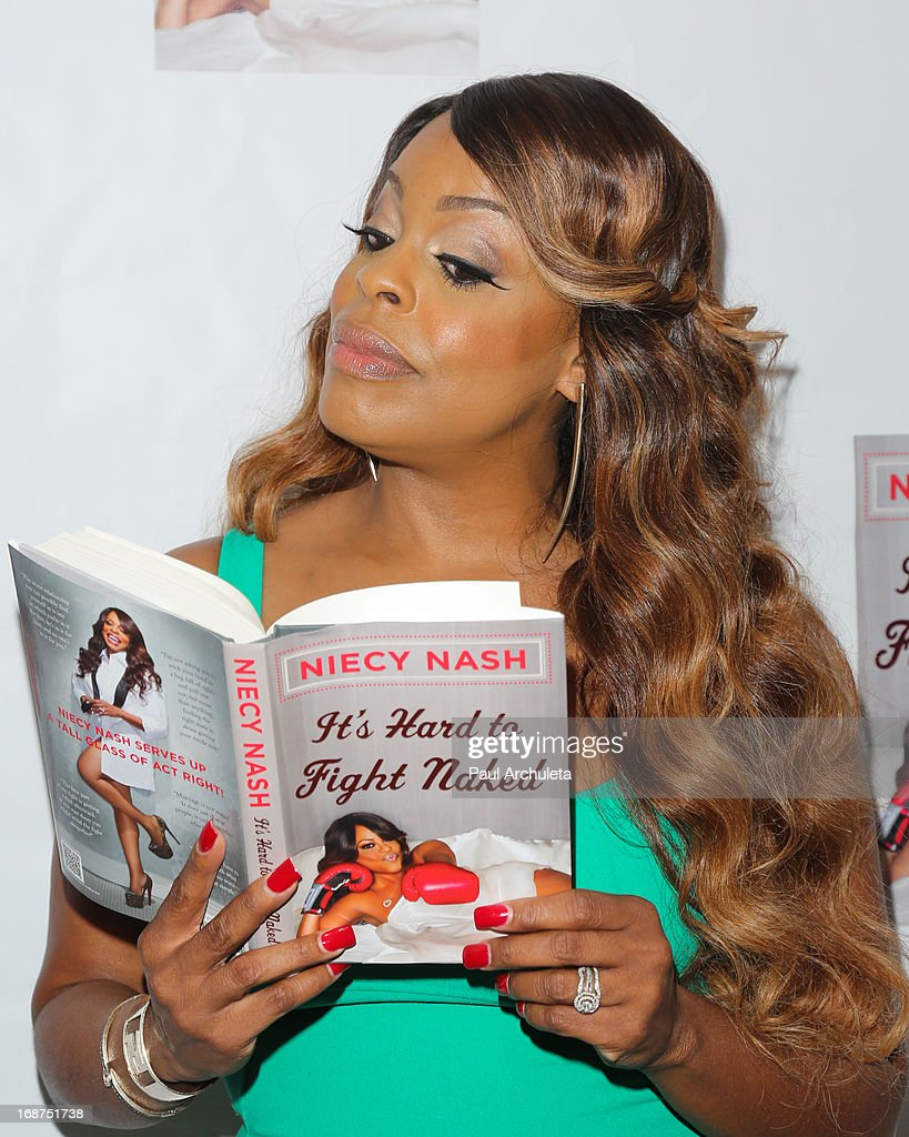 Actress Niecy Nash attends the release party for her new book 'It's Hard To Fight Naked' at the Luxe Rodeo Drive Hotel on May 14, 2013 in Beverly Hills, California.