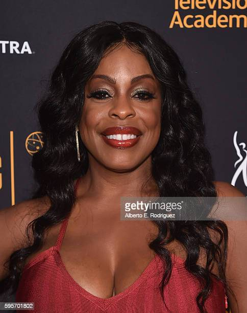 Actress Niecy Nash attends the Television Academy And SAGAFTRA's 4th Annual Dynamic and Diverse Celebration at The Saban Media Center on August 25...