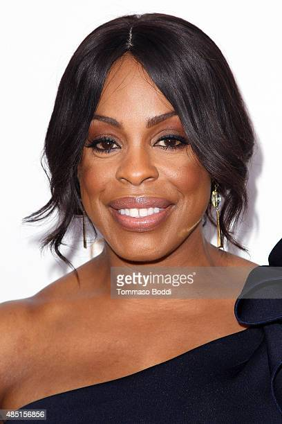 Actress Niecy Nash attends the Television Academy's Performers Peer Group Hold Cocktail Reception To Celebrate 67th Emmy Awards held at Montage...