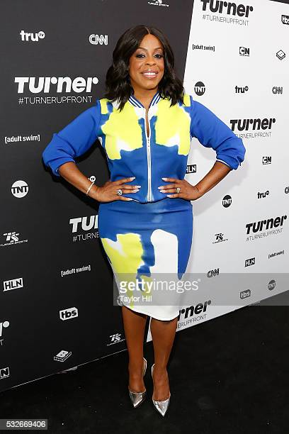 Actress Niecy Nash attends the Turner Upfront 2016 arrivals at The Theater at Madison Square Garden on May 18 2016 in New York City