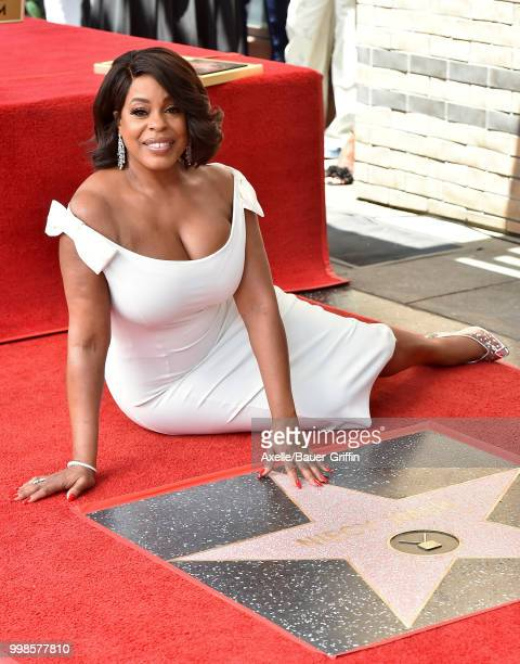 Actress Niecy Nash is honored with star on the Hollywood Walk of Fame on July 11 2018 in Hollywood California