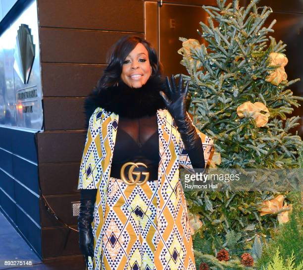 Actress Niecy Nash is seen walking in Midtown on December 14 2017 in New York City
