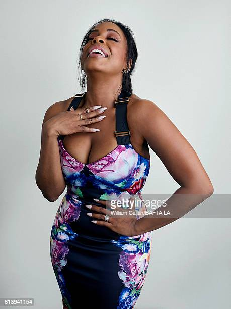 Actress Niecy Nash poses for a portrait BBC America BAFTA Los Angeles TV Tea Party 2016 at the The London Hotel on September 17, 2016 in West...