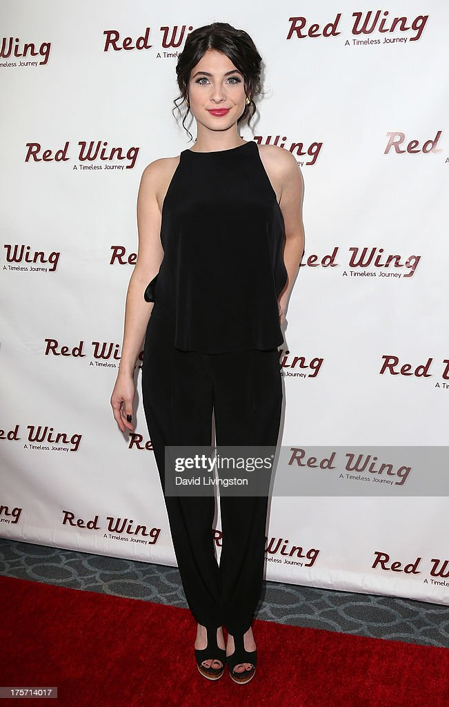 Actress Niki Koss attends a screening of Integrity Film Production's 'Red Wing' at Harmony Gold Theatre on August 6, 2013 in Los Angeles, California.