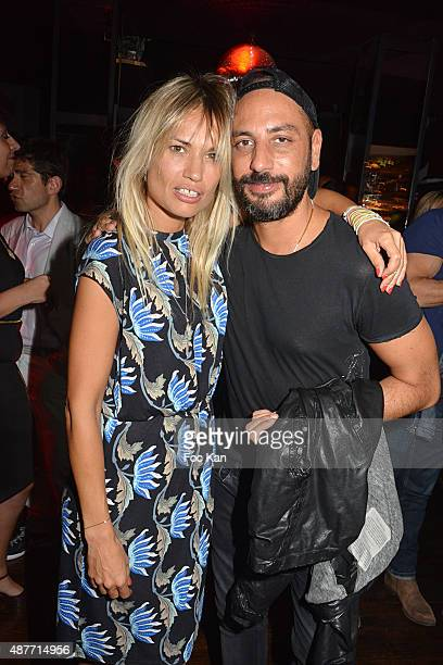 Actress Nikita Lespinasse and Producer Mathias Colomba attend 'the Mathieu Tordjman Birthday Party at the Cha Cha on September 10, 2015 in Paris,...