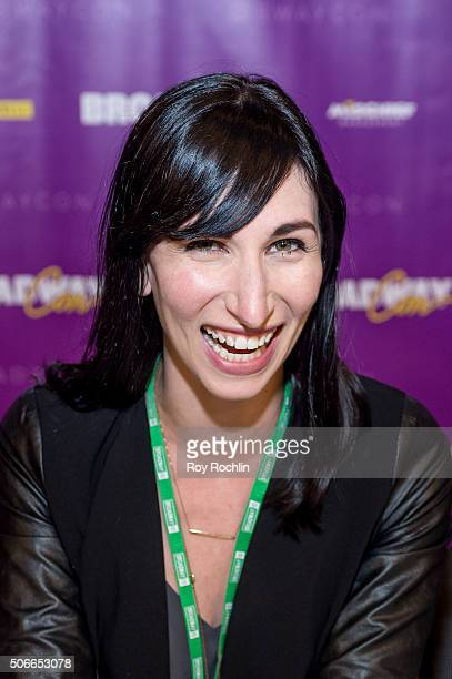 Actress Nikka Graff Lanzarone attends BroadwayCon 2016 at the New York Hilton Midtown on January 24, 2016 in New York City.