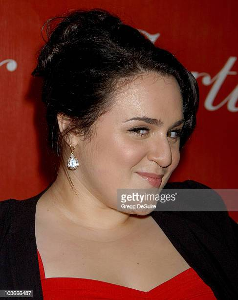 Actress Nikki Blonsky arrives at the 2008 Palm Springs International Film Festival Awards Gala at the Palm Springs Convention Center on January 5...