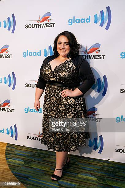Actress Nikki Blonsky arrives at the 21st Annual GLAAD Media Awards held at Marriot Marquis on June 5 2010 in San Francisco California