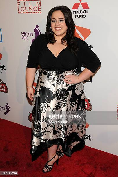 Actress Nikki Blonsky arrives at the premiere of Harold at the 62nd and Broadway Cinema on April 30 2008 in New York City