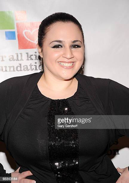 Actress Nikki Blonsky attends Rosie's Broadway Extravaganza at the Palace Theatre on November 23 2009 in New York City