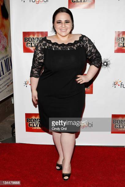 Actress Nikki Blonsky attends the Broadway opening night of Bonnie Clyde at the Gerald Schoenfeld Theatre on December 1 2011 in New York City