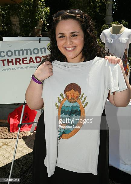 Actress Nikki Blonsky attends the Kari Feinstein MTV Movie Awards Style Lounge Day 2 at a private residence on May 30 2008 in Los Angeles California