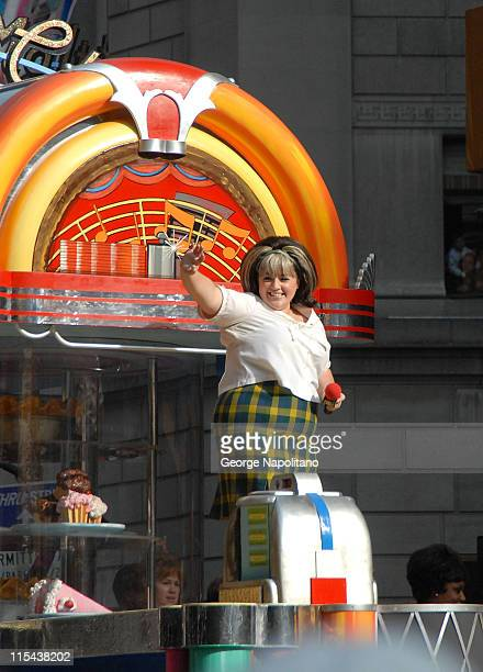 Actress Nikki Blonsky attends the Macy's Thanksgiving Day Parade on November 22 2007 in New York City