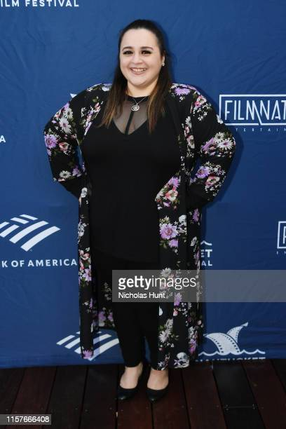 Actress Nikki Blonsky attends the Screenwriters Tribute at Sconset Casino during the 2019 Nantucket Film Festival Day Four on June 22 2019 in...