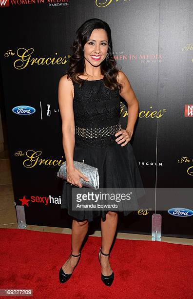 Actress Nikki Boyer arrives at the 38th Annual Gracie Awards Gala at The Beverly Hilton Hotel on May 21 2013 in Beverly Hills California