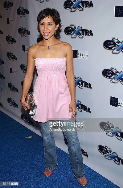 Actress Nikki Boyer arrives at the party celebrating the 11th Season of Extra on October 7 2004 at The Lounge @ Astra at the Pacific Design Center in...