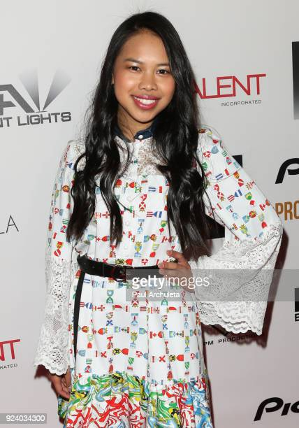 Actress Nikki Castillo attends the Gifting Your Spectrum gala benefiting Autism Speaks on February 24 2018 in Hollywood California