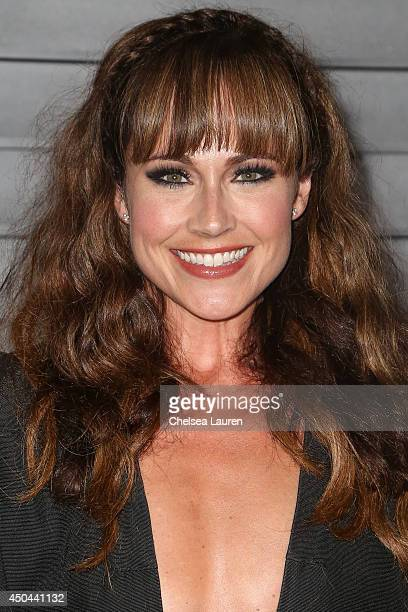 Actress Nikki DeLoach arrives at Maxim Hot 100 at Pacific Design Center on June 10 2014 in West Hollywood California