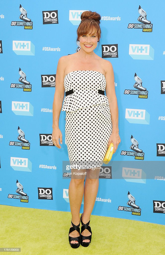 Actress Nikki Deloach arrives at the 2013 Do Something Awards at Avalon on July 31, 2013 in Hollywood, California.