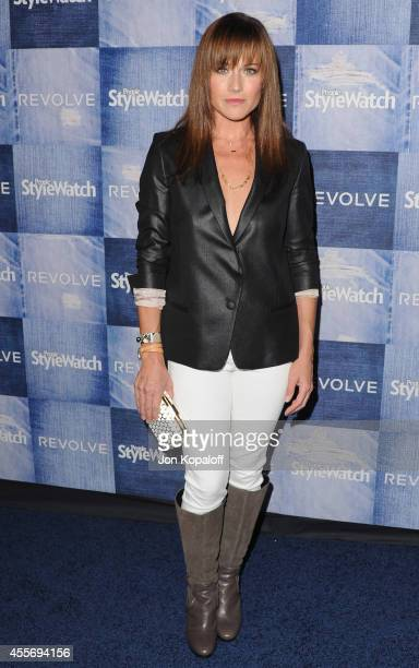 Actress Nikki DeLoach arrives at the People StyleWatch 4th Annual Denim Awards Issue at The Line on September 18, 2014 in Los Angeles, California.