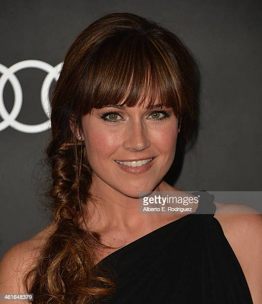 Actress Nikki DeLoach arrives to Audi Celebrates Golden Globes Weekend at Cecconi's Restaurant on January 9 2014 in Los Angeles California