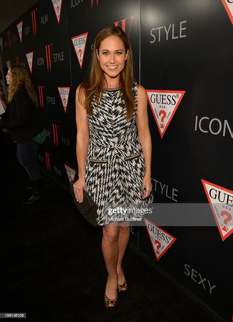 Actress Nikki Deloach attends '30 Years Of Fashion And Film And The Next Generation Of Style Icons' with W Magazine and GUESS at Laurel Hardware on January 8, 2013 in West Hollywood, California.