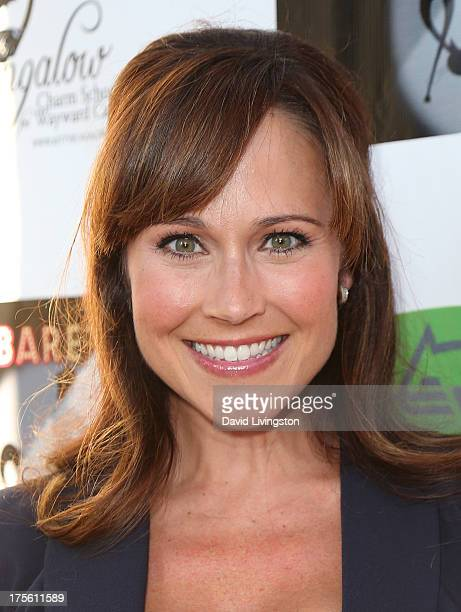 Actress Nikki Deloach Attends Catberet A Musical Review For The Kitty Bungalow Charm School
