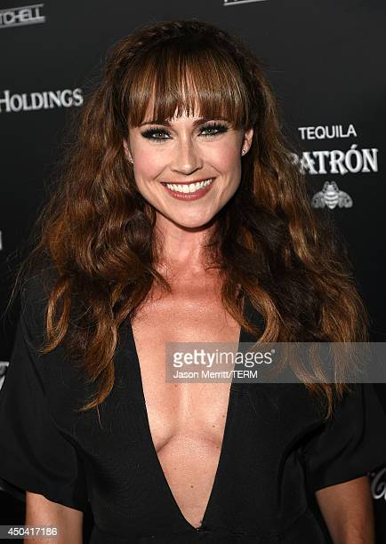 Actress Nikki DeLoach attends Maxim's Hot 100 Women of 2014 celebration and sneak peek of the future of Maxim at Pacific Design Center on June 10...