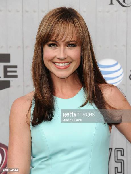 Actress Nikki DeLoach attends Spike TV's Guys Choice Awards at Sony Studios on June 7 2014 in Los Angeles California