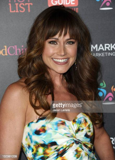 Actress Nikki Deloach attends the 2011 TV Guide Magazine Hot List Party at Greystone Manor Supperclub on November 7 2011 in West Hollywood California