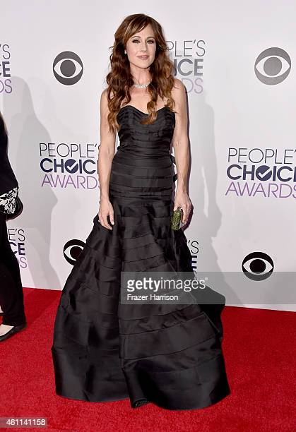 Actress Nikki Deloach attends The 41st Annual People's Choice Awards at Nokia Theatre LA Live on January 7 2015 in Los Angeles California