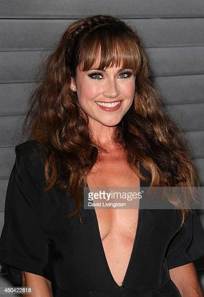 Actress Nikki DeLoach attends the Maxim Hot 100 event at the Pacific Design Center on June 10 2014 in West Hollywood California