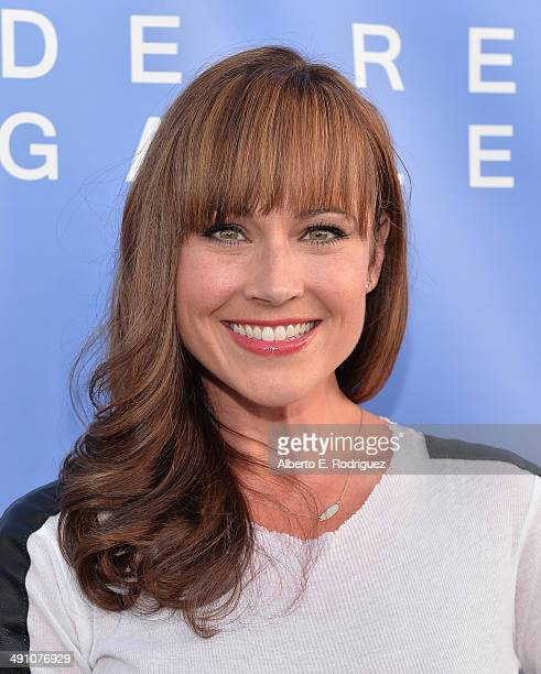 Actress Nikki DeLoach attends the opening of The De Re Gallery on May 15 2014 in Los Angeles California